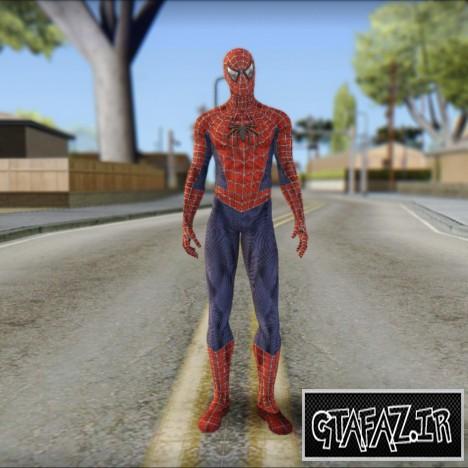 دانلود اسکین مرد عنکبوتی HD برای (GTA 5(San Andreas